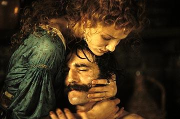 Cameron Diaz and Daniel Day-Lewis in Miramax's Gangs of New York
