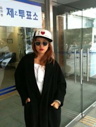 Lee Hyo Ri reveals her 'election fashion'