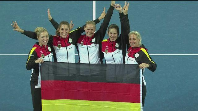 Germany beat Australia to reach Fed Cup final