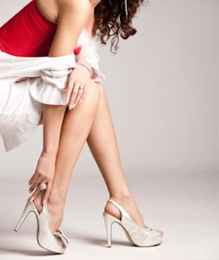 Think twice before slipping on those sexy heels!