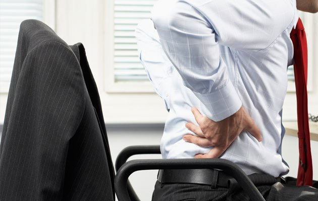 Spinal problems are increasingly common amongst patients in their 20s and 30s (Thinkstock photo).