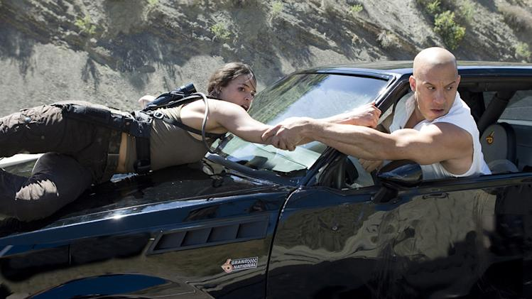 Fast & Furious Production Stills 2009 Universal Pictures Michelle Rodriguez Vin Diesel