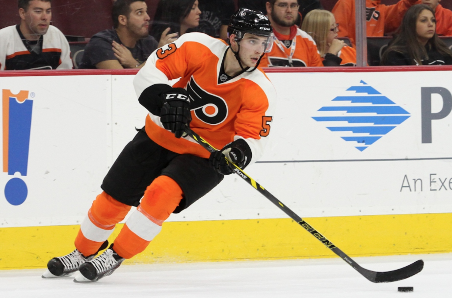 Shayne Gostisbehere's defensive play has pushed him to the bench