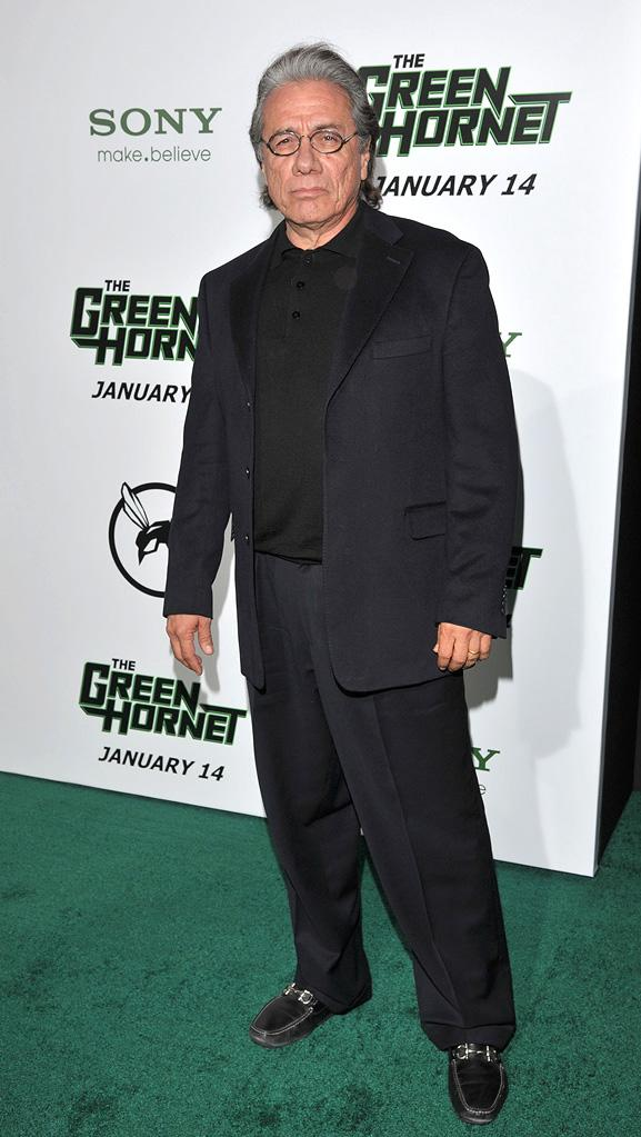 The Green Hornet LA Premiere 2011 Edward James Olmos