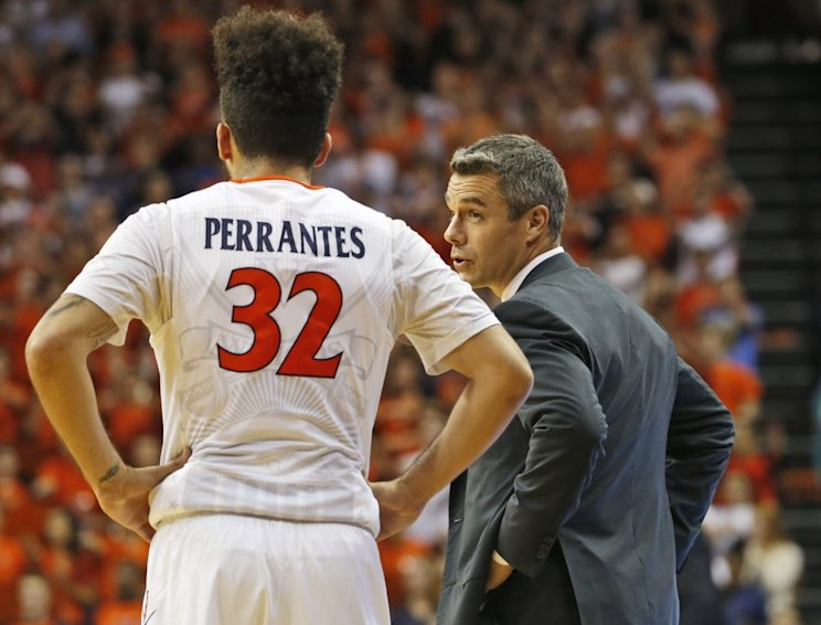 London Perrantes spearheaded Virginia's second-half rally to beat Ohio State (AP)