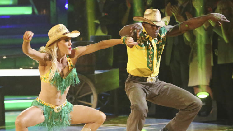 Peta Murgatroyd and Donald Driver (5/21/12)