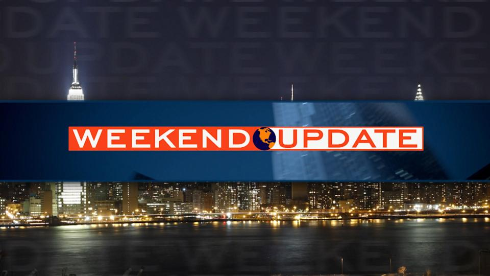 Weekend Update: Part 1