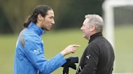 Rangers manager Ally McCoist, right, says he struggles to control Bilel Mohsni, left