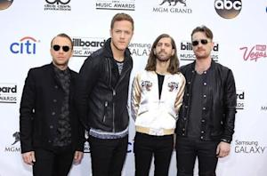 Recording artists Ben McKee, Dan Reynolds, Wayne Sermon …