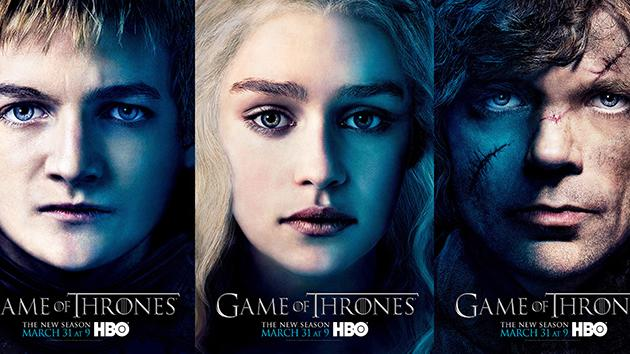 """Game of Thrones"" Season 3 Posters"