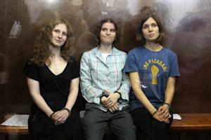 Pussy Riot Members Released From Prison, Slam Russian Government