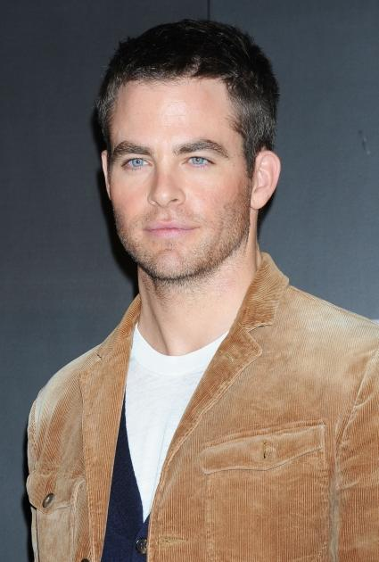 Chris Pine attends the 'Star Trek Into Darkness' Special Footage Presentation at 109 Cinemas Kiba in Tokyo on December 4, 2012 -- Getty Premium