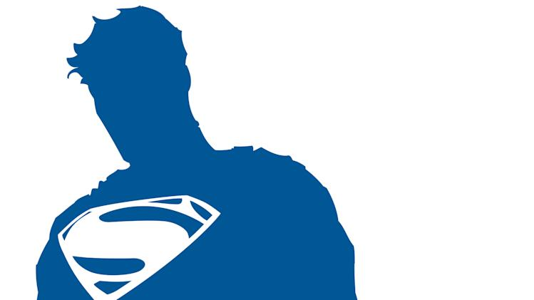 "This illustration released by DC Entertainment shows a logo commemorating the 75th anniversary of Superman. Its first appearance will be on the cover of ""Superman Unchained"" by DC co-publisher Jim Lee and writer Scott Snyder on June 12, along with a new animated short being produced by Zack Snyder, which will debut at San Diego Comic-Con in July. Warner Bros. CEO Kevin Tsujihara said Thursday, May 30, 2013, the new logo is part of a year-long celebration of what he called the ""first super hero."" (AP Photo/DC Entertainment)"