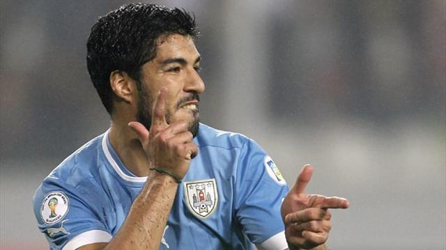 World Cup - Tabarez: Suarez at a perfect age for Brazil