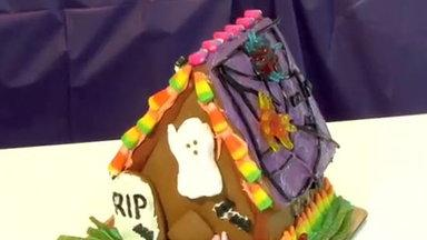 Making a Haunted Gingerbread House