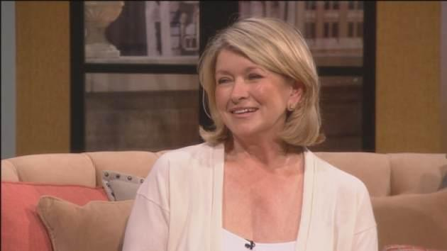 Martha Stewart stops by Access Hollywood Live on May 15, 2013 -- Access Hollywood