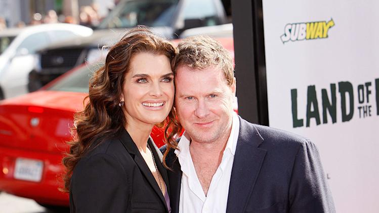 Land of the Lost LA Premiere 2009 Brooke Shields Chris Henchy