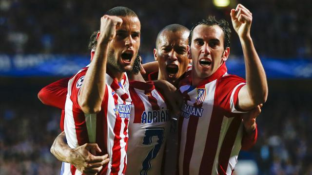 Champions League - Atletico smash Chelsea to make historic final