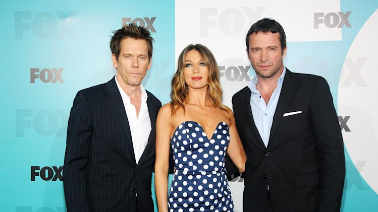 Fox 2012 Programming Presentation Post-Show Party - Kevin Bacon, Natalie Zea and James Purefoy