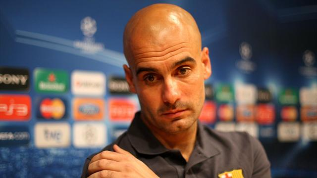 Football - Barca happy with Guardiola's Bayern move