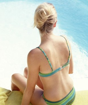 Don't sit in your wet bathing suit (or sweaty workout clothes).