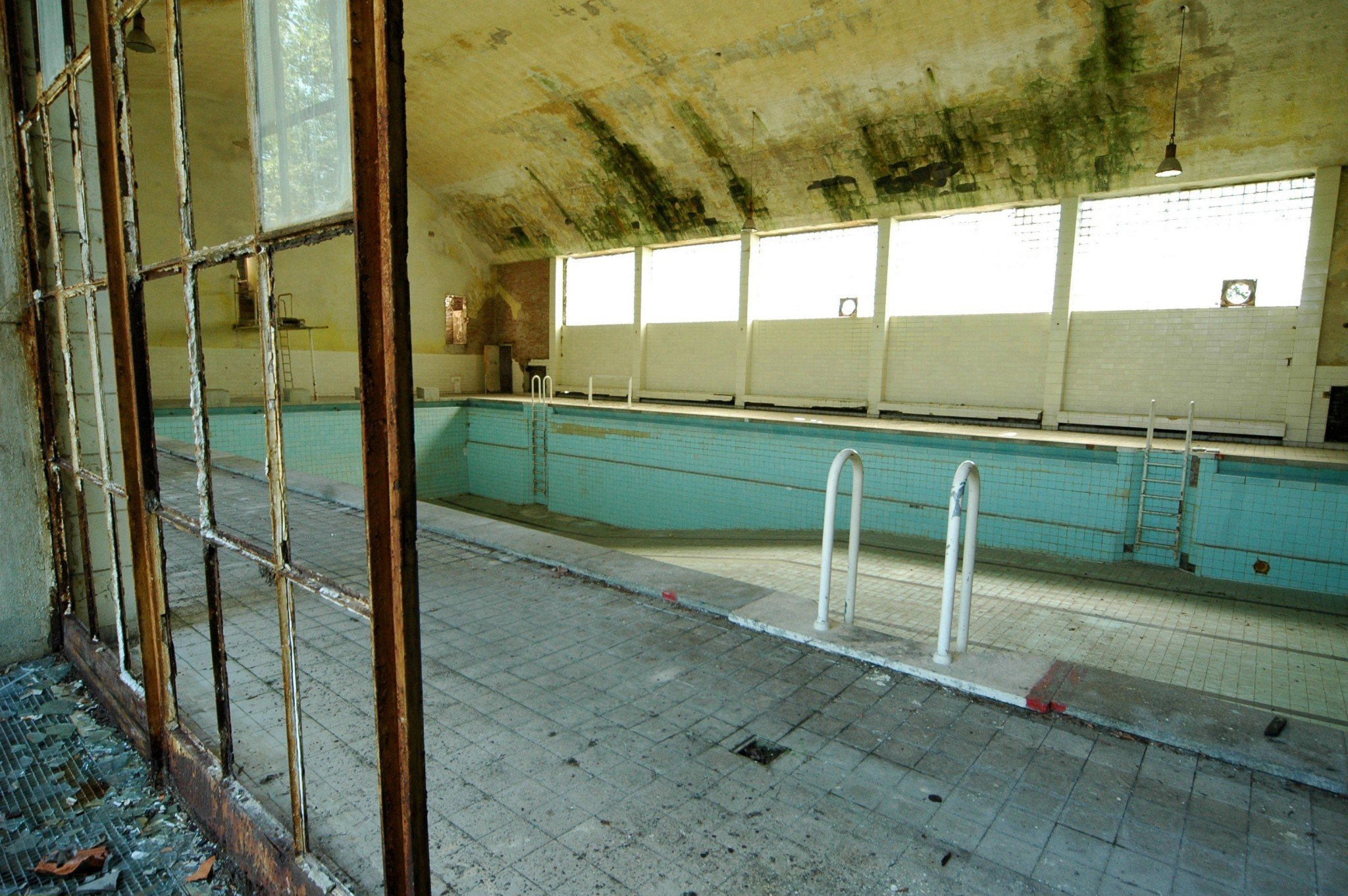 Olympic venue legacy is one of neglect and decay photos - Indoor swimming pool berlin ...