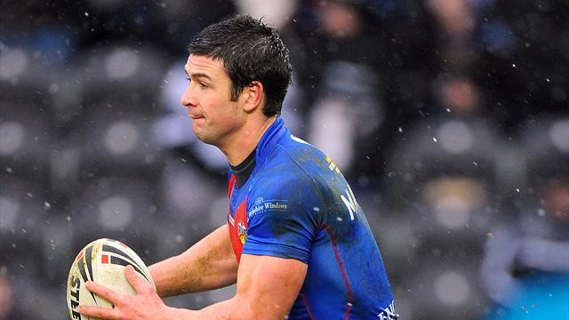 Rugby League - Wakefield full-back Mathers undergoes emergency surgery
