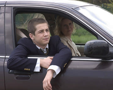 Michael Angarano and Cynthia Nixon in Magnolia's One Last Thing