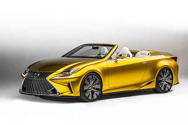 Lexus LF CS concept grill photo