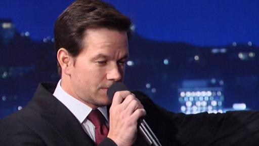 Mark Wahlberg Sings On TV