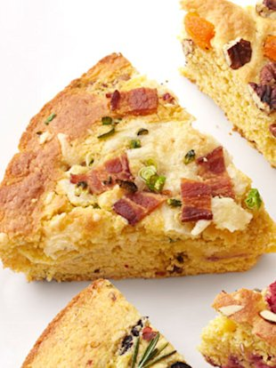 Pepper Jack-Bacon Cornbread