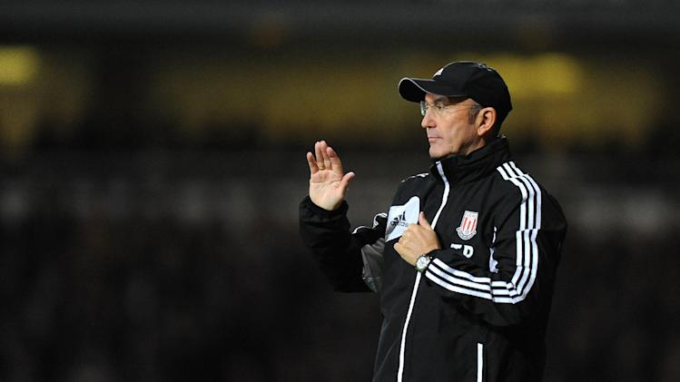 Tony Pulis praised the attitude of his substitutes