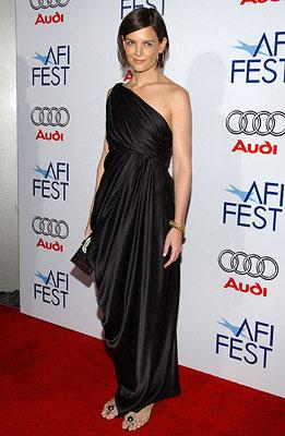 Katie Holmes at the AFI Fest opening night gala presentaion of United Artists' Lions for Lambs