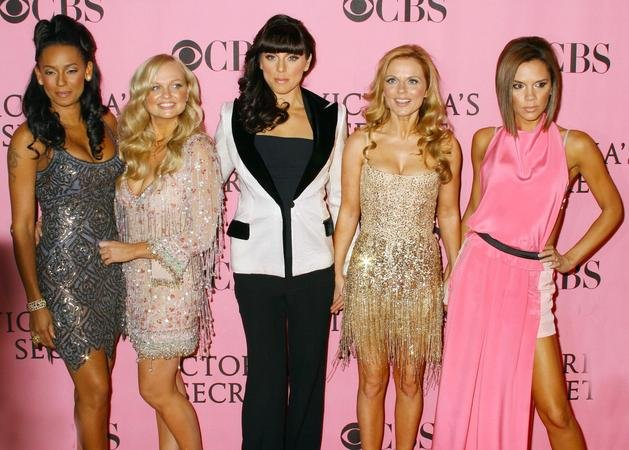 Spice Girls pictured rehearsing for Olympics reunion