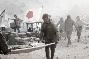 A scene from Warner Bros. Pictures' Letters From Iwo Jima