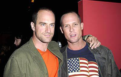 Premiere: Christopher Meloni and Dean Winters at a New York screening of MGM's Bandits - 9/25/2001