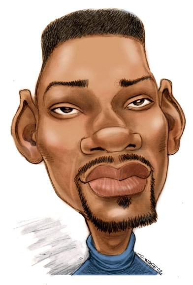 CARICATURE: Will Smith