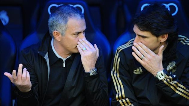 FOOTBALL 2012 Real Madrid - Mourinho et Karanka