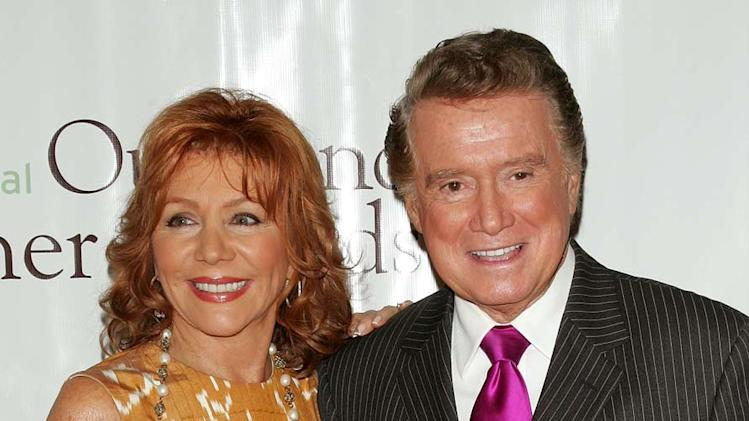 Joy Philbin and Regis Philbin  attend the 30th Annual Outstanding Mother Awards at The Pierre Hotel on May 8, 2008 in New York City.