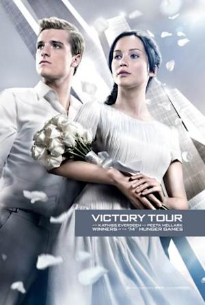 A poster from 'Catching Fire' -- Lionsgate