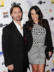 LONDON, ENGLAND - FEBRUARY 07: Jay Rutland and Tamara Ecclestone attend ZOOM, a Formula 1 photographic charity auction in aid of Great Ormond Street at InterContinental Park Lane Hotel on February 7, 2014 in London, England. (Photo by Stuart C. Wilson/Getty Images)