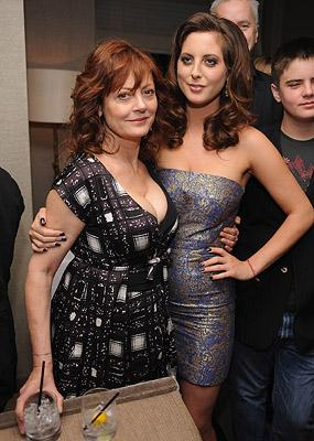 Susan Sarandon and Eva Amurri at the New York premiere of Magnolia Pictures' The Life Before Her Eyes