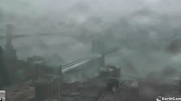 La webcam su Broklyn Bridge