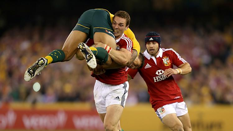 Rugby Union - 2013 British and Irish Lions Tour - Second Test - Australia v British and Irish Lions - Etihad Stadium