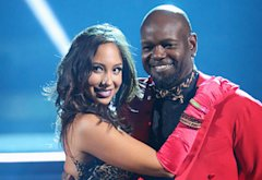 Cheryl Burke and Emmitt Smith | Photo Credits: Adam Taylor/ABC