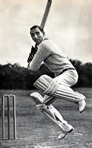 Sport. Cricket. pic: circa 1940's. Nawab of Pataudi, (Iftikhar Ali Khan) 1910-1952, who played in England for Oxford University 1928-1931 and Worcestershire 1932-1938. He captained his native country