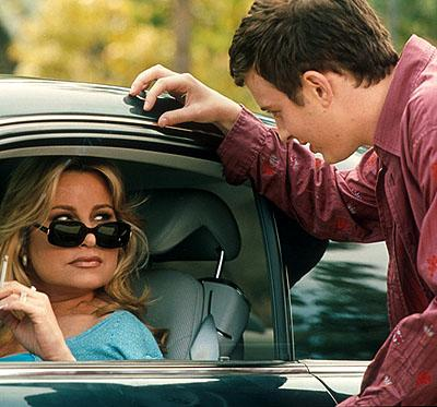 Jennifer Coolidge and Eddie Kaye Thomas in Universal's American Pie 2