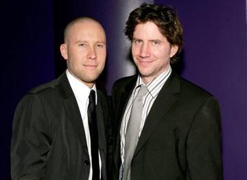 Michael Rosenbaum and Jamie Kennedy InStyle/Warner Bros. Golden Globes Party The Palm Court at the Beverly Hilton - Beverly Hills, CA - 1/16/05