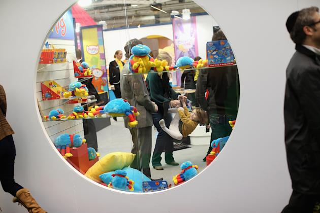 Toy Enthusiasts Attend The Toy Fair 2013