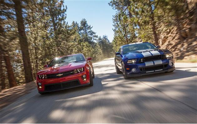 2012 Chevrolet Camaro ZL1 vs. 2013 Ford Shelby GT500